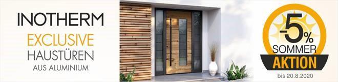 Sommeraktion Inotherm Haustüren